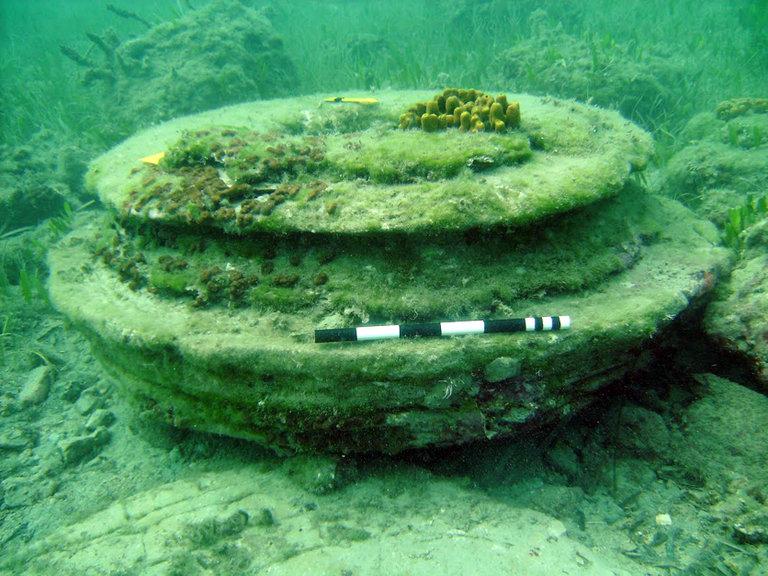 Затонувшая «Атлантида» у берегов острова Закинф была создана вовсе не людьми - 1