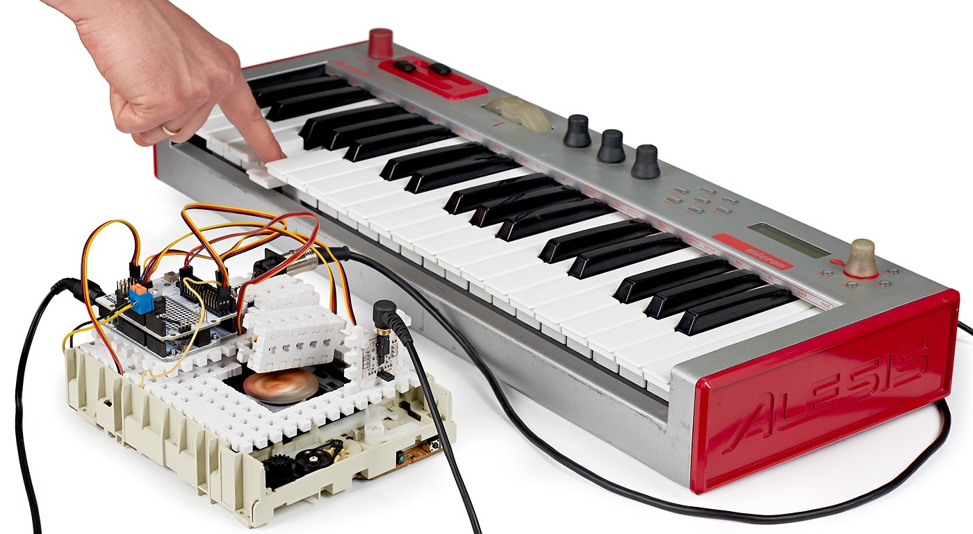 Звук из картинки. Оптический синтезатор Look Modular - 1