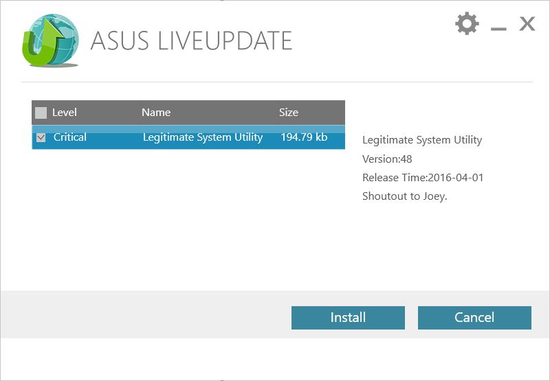 Asus автоматически обновляет BIOS-UEFI по HTTP без верификации - 1