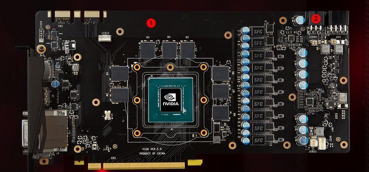MSI представила пять видеокарт GeForce GTX 1070