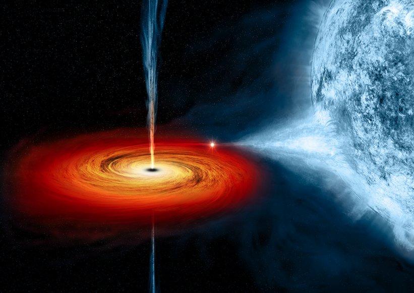 Радиофизики нашли способ «сфотографировать» чёрную дыру - 4