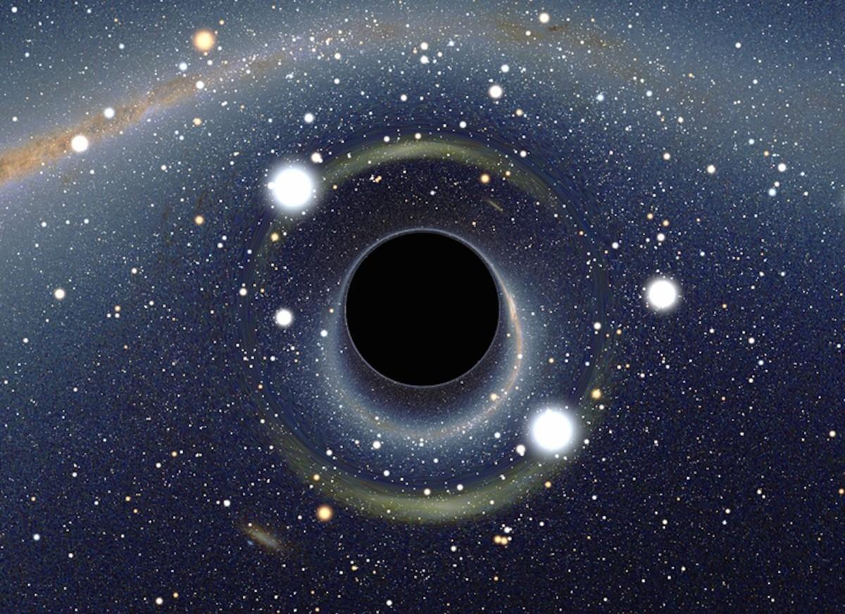 Радиофизики нашли способ «сфотографировать» чёрную дыру - 1