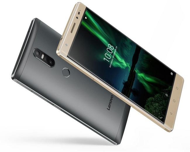 Представлены смартфоны Lenovo Phab 2 Plus и Lenovo Phab 2