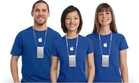 Воры, одетые как сотрудники Apple, в очередной раз крадут смартфоны iPhone из официального магазина