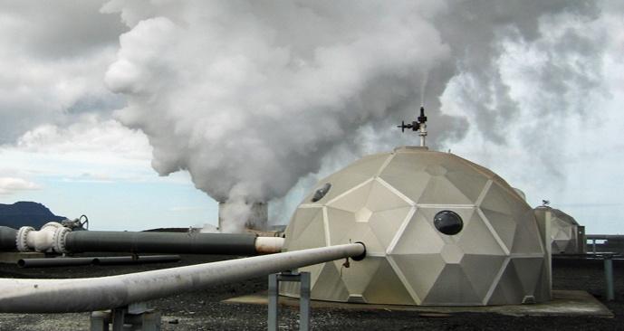 Исландцы превратили выбросы углекислого газа (CO2) в камень - 1