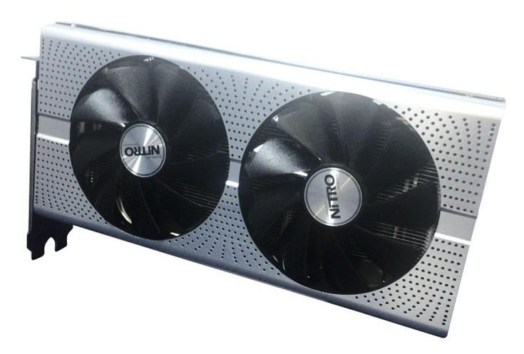 Видеокарта Sapphire Radeon RX 480 Nitro 8GB получит оригинальный охладитель