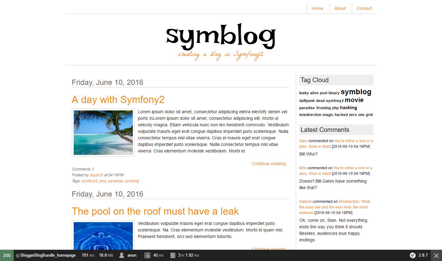 Создание блога на Symfony 2.8 lts [ Часть 5] - 4