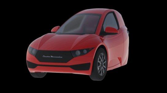 Electra Meccanica Solo- уникальная машина, оснащенная тремя колесами