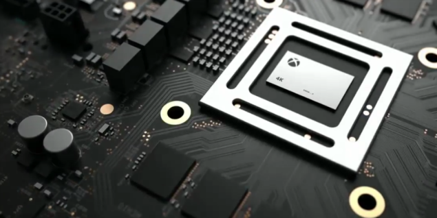 Консоль Xbox Scorpio появится через полтора года
