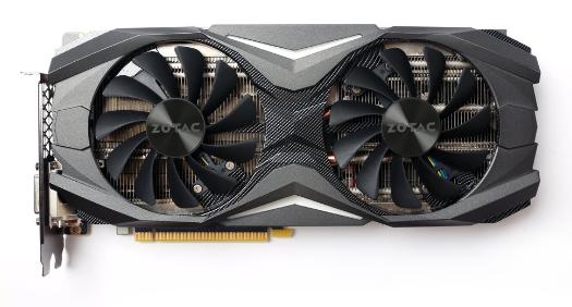 Zotac представила три видеокарты GeForce GTX 1070