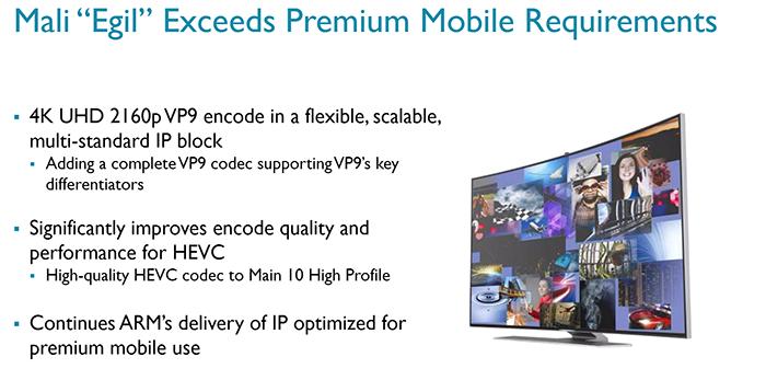 Видеопроцессор ARM Egil будет экономичнее Mali-V550