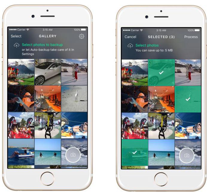 Приложение Avast Photo Space переносит фотографии в исходном разрешении в облачное хранилище