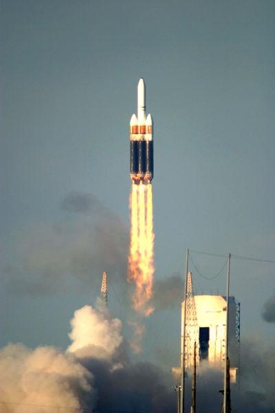 Ракета в огне. Delta-IV Heavy — FireBall - 3