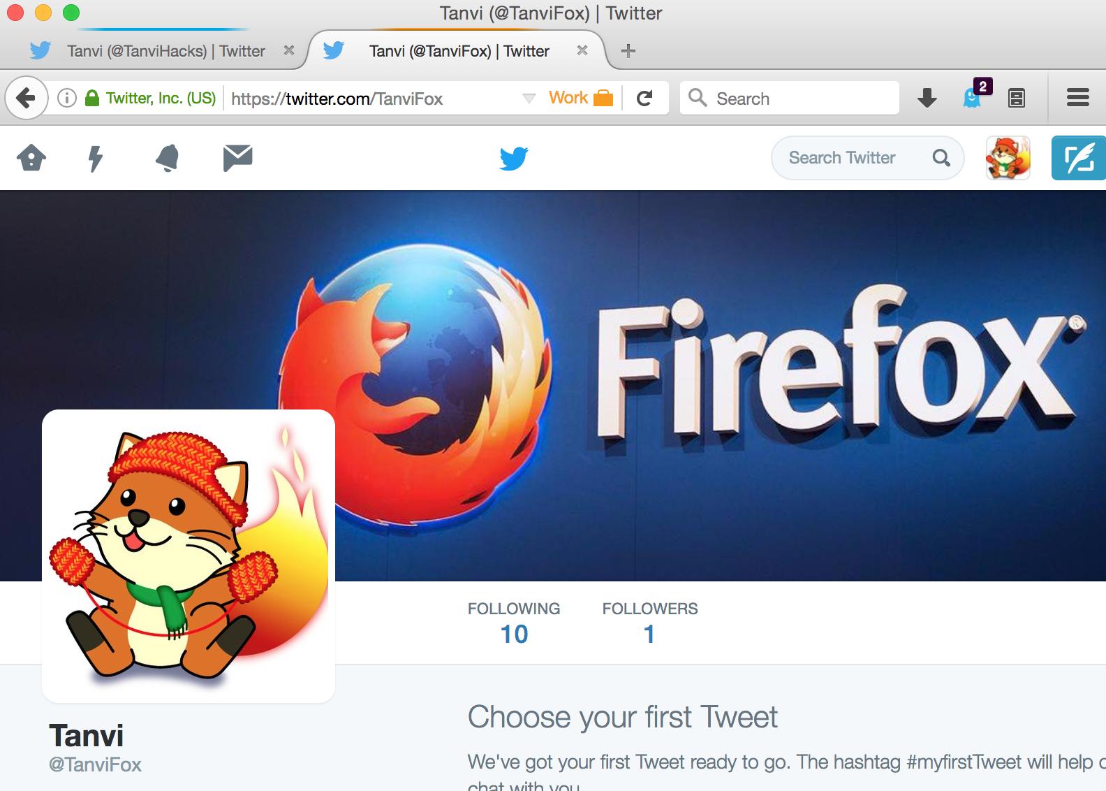 Firefox позволит заходить на сайты под несколькими аккаунтами одновременно - 1