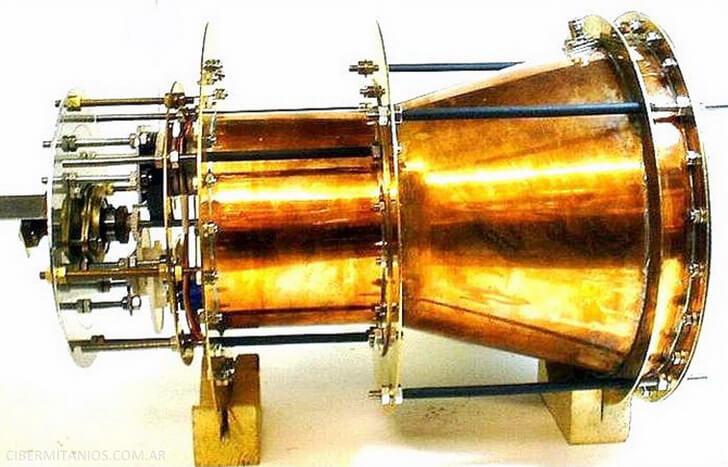 Новое объяснение принципа работы «невозможного» двигателя EmDrive: это все фотоны - 1