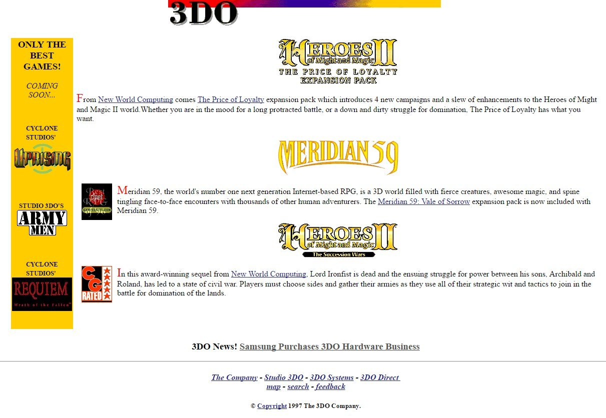 The 3DO Company и 3DO Interactive Multiplayer (Panasonic и не только) - 25