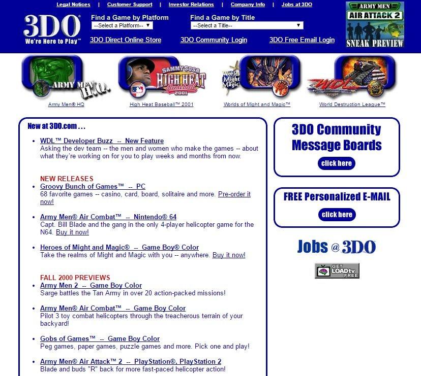 The 3DO Company и 3DO Interactive Multiplayer (Panasonic и не только) - 28