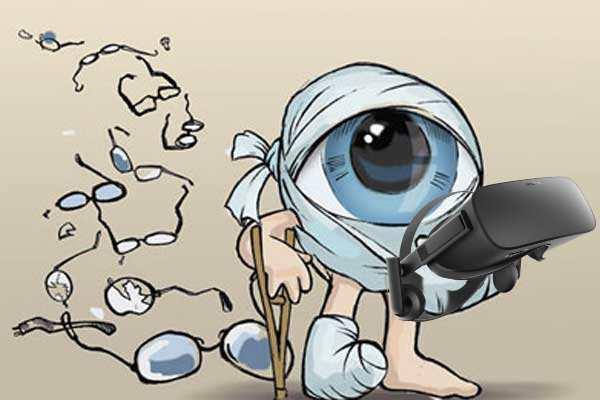 VR устройства полезнее для глаз, чем обычные экраны - 1