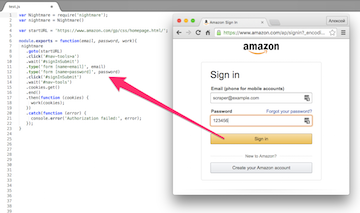 Web scraping на Node.js и защита от ботов - 2