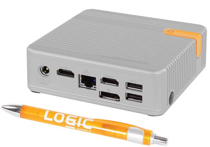 Мини-ПК Logic Supply CL100 конкурирует с Intel NUC, хотя сферы использования несколько различаются
