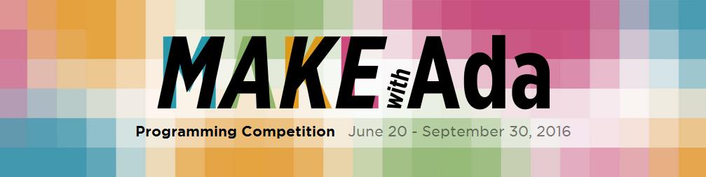 Началось соревнование «Make with Ada» для разработчиков встраиваемых систем - 1