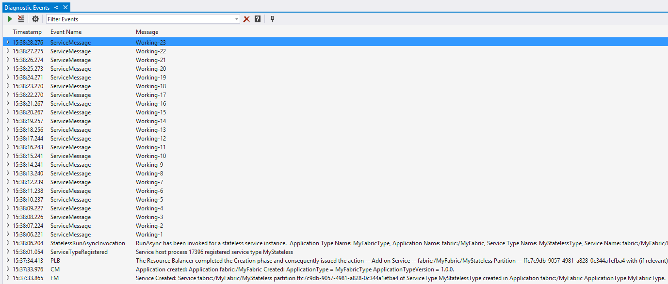 Azure Service Fabric: первые шаги - 4