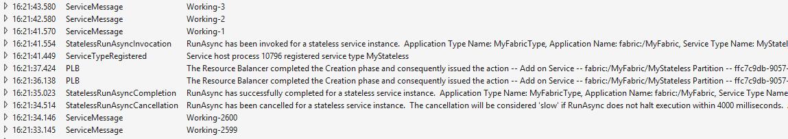Azure Service Fabric: первые шаги - 5