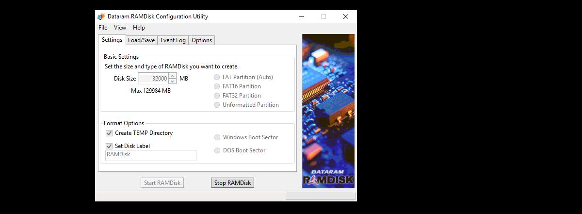 RAMDisk, или что делать если у вас в компьютере 128 гигабайт оперативной памяти - 2