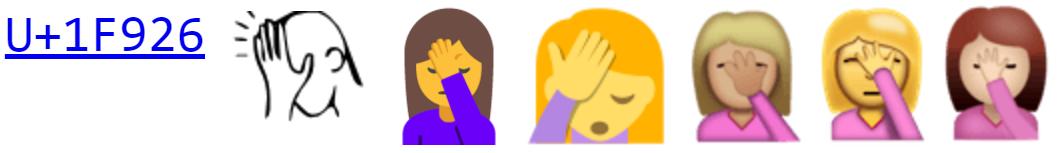 Принят стандарт Unicode 9.0 - 1