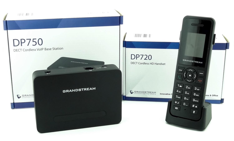 Обзор нового DECT IP телефона Grandstream DP750-DP720 - 2