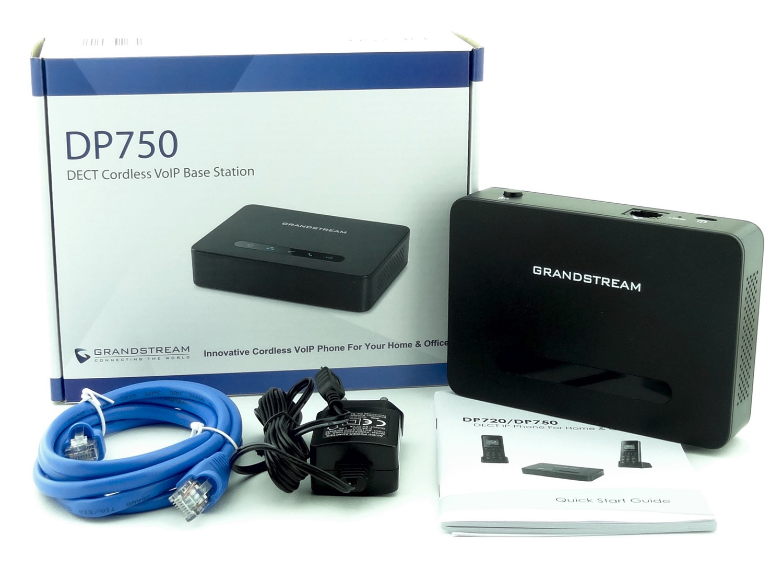 Обзор нового DECT IP телефона Grandstream DP750-DP720 - 3