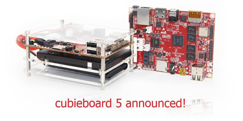 Анонсирован Cubieboard 5-Cubietruck Plus и HDD-RAID Shield - 1
