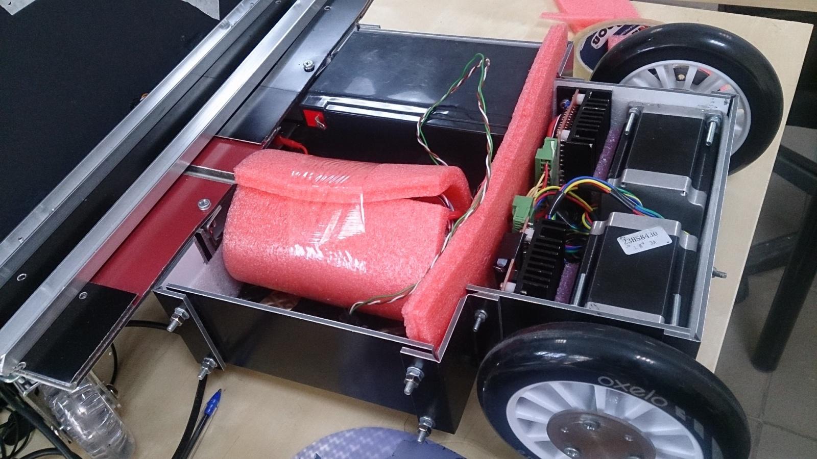 «Продолжение. Часть 1.2. Как я собирал робота телеприсутствия на колесной базе.» Технологии Endurance Robots&Lasers - 7