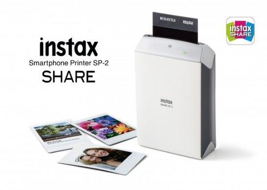 Instax Share SP-2- второе поколение востребованного фотопринтера