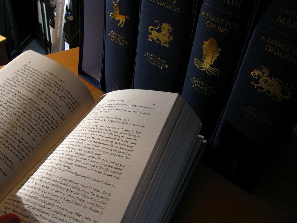 Игра Престолов. Поиск авторов диалогов в книгах - 1