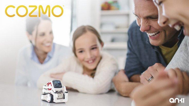 Маленький умный робот Cozmo напоминает WALL•E