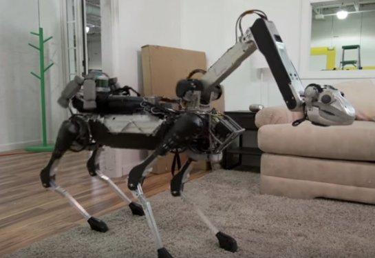 Создан оригинальный четвероногий робот компанией Boston Dynamics
