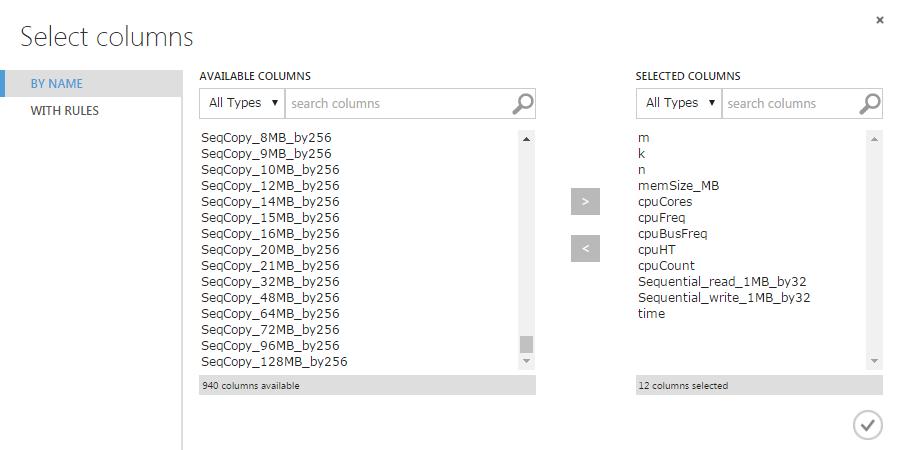 Решаем «Первый открытый контест» от Mail.ru по Data Science с помощью Azure ML (введение в Azure ML) - 10