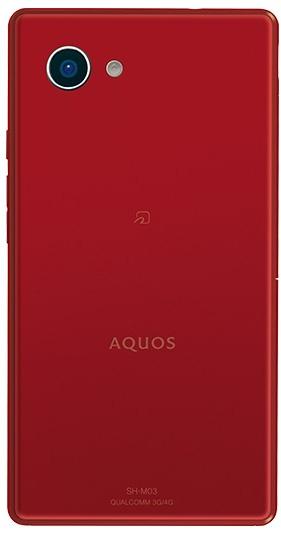 Смартфон Sharp Aquos mini SH-03H получился очень компактным