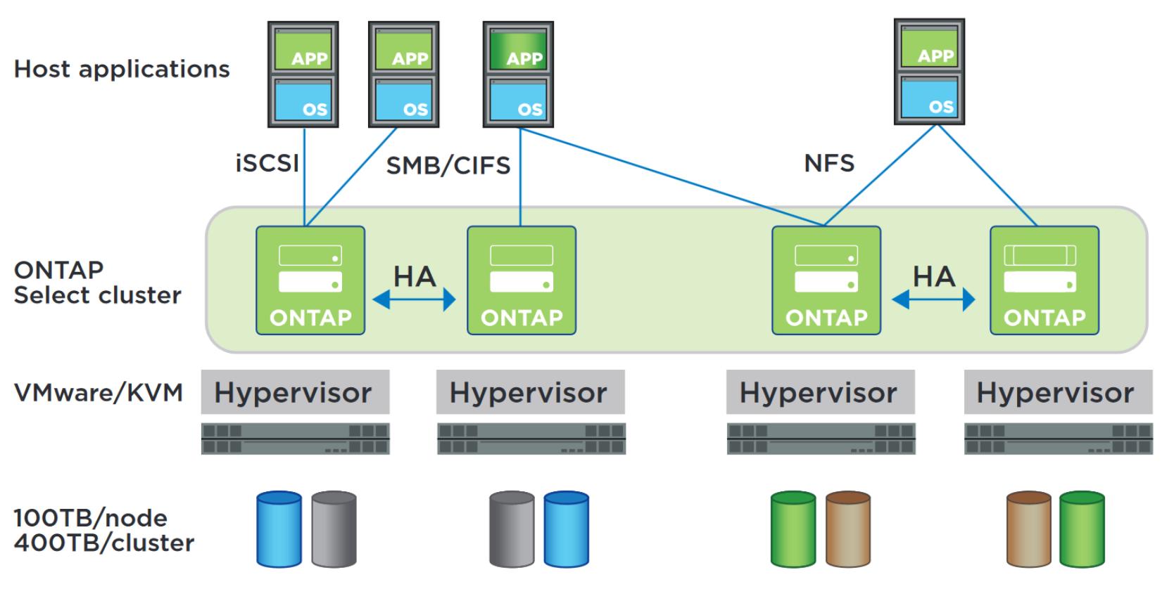 SDS от NetApp: ONTAP Select - 1