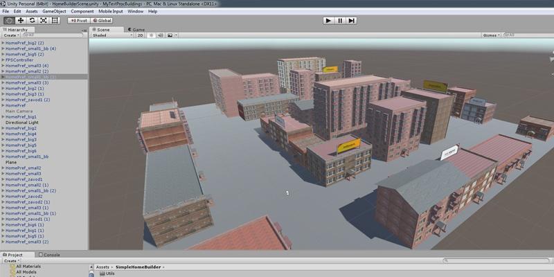 Unity: как мы создавали генератор домов для AssetStore или возвращение к хрущёвкам - 2