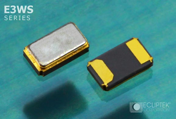 Кварцевые резонаторы Ecliptek E3WS работают а частоте 32 768 кГц