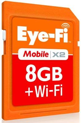 Карточка Eye-Fi Mobile X2