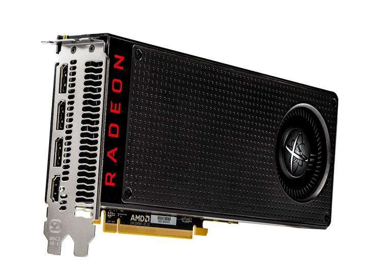 Видеокарты XFX Radeon RX 480 получили металлические пластины