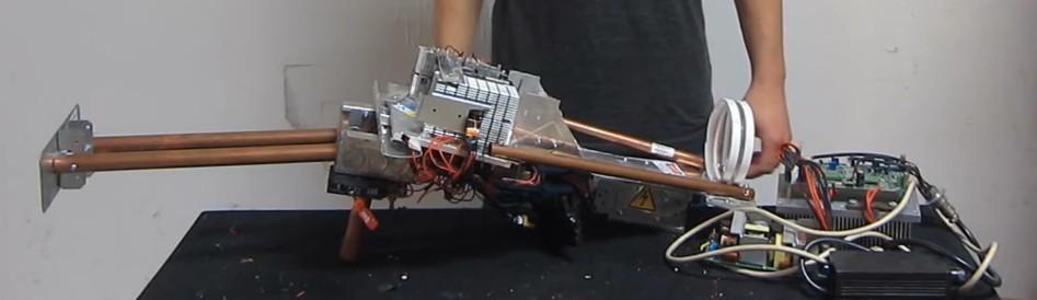 Самодельная световая базука на 200 Вт - 1
