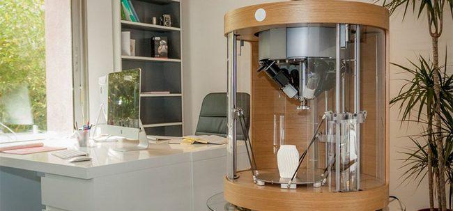 3D-принтер Pollen Pam может использовать одновременно до четырех материалов