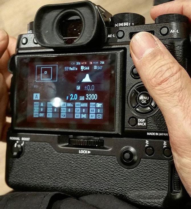 Анонс камеры Fujifilm X-T2 ожидается в июне