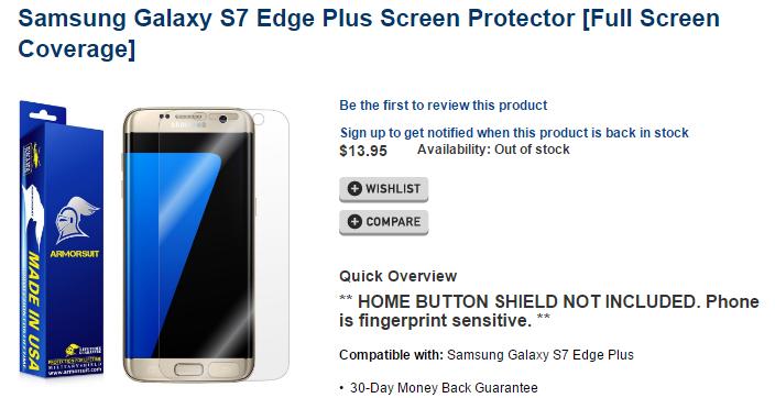 Смартфон Samsung Galaxy S7 Edge Plus может пополнить линейку флагманов компании