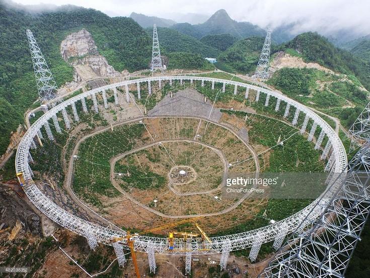 Радиотелескоп FAST начнёт работу в сентябре