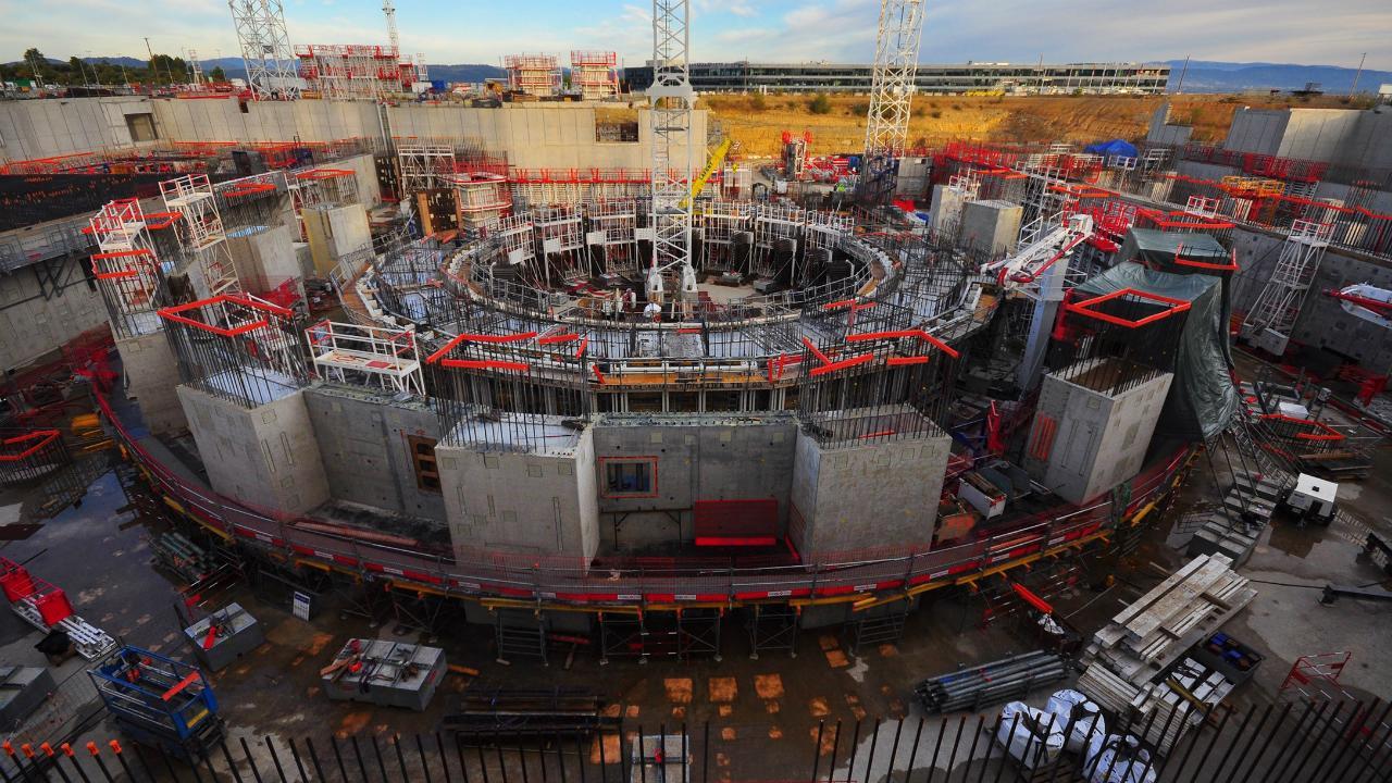 Строительство ИТЭР опережает график. Первая плазма запланирована на 2025 год - 1